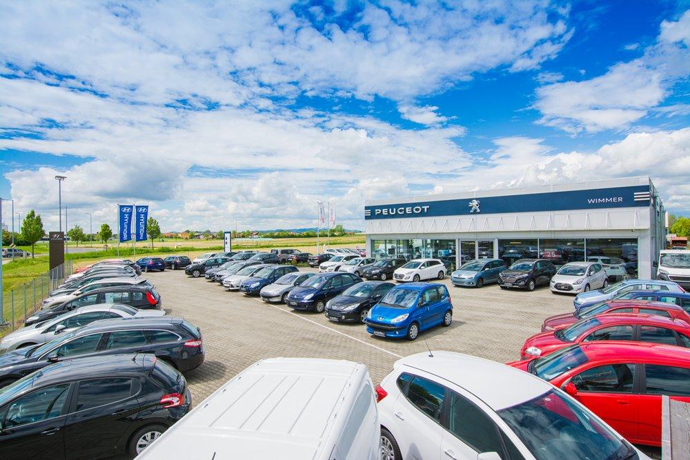 Unternehmen automobile wimmer gmbh im bezirk eferding for Autohaus linz